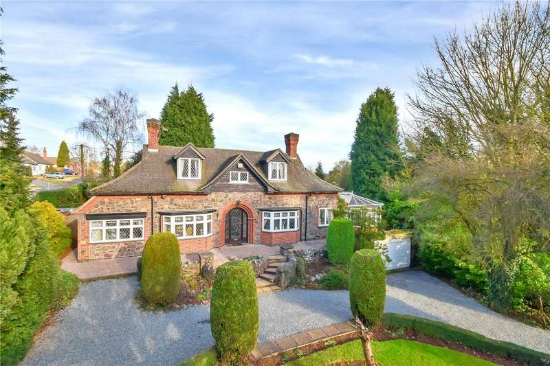 4 Bedrooms Detached House for sale in Markfield Road, Groby, Leicestershire