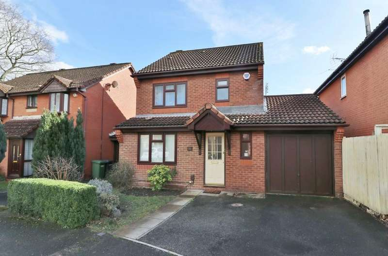 3 Bedrooms Detached House for sale in Lucerne Gardens, Hedge End
