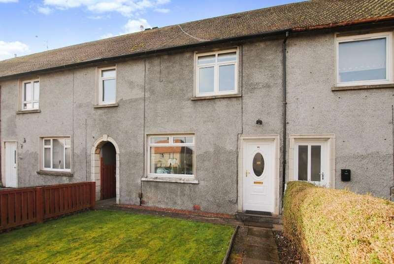 3 Bedrooms Terraced House for sale in West Crescent, Troon, South Ayrshire, KA107BL