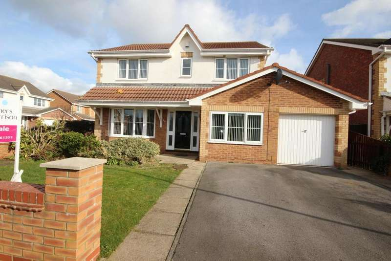 4 Bedrooms Detached House for sale in Forester Close, Seaton Carew, Hartlepool