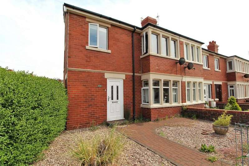3 Bedrooms End Of Terrace House for rent in Curzon Road, St. Annes, Lancashire, FY8