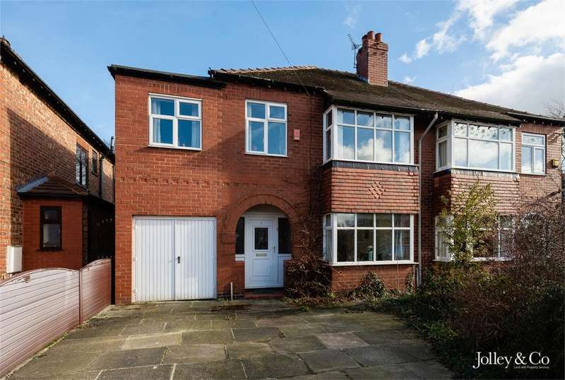 4 Bedrooms Semi Detached House for sale in 3 Ashfield Grove, Stockport, Cheshire