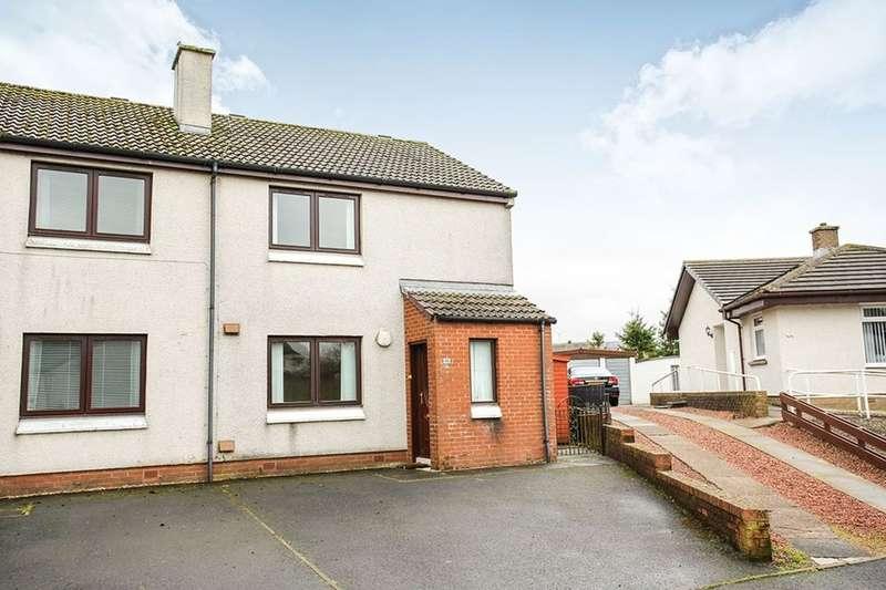 2 Bedrooms Semi Detached House for sale in Glenaylmer Road, Kirkconnel, Sanquhar, DG4