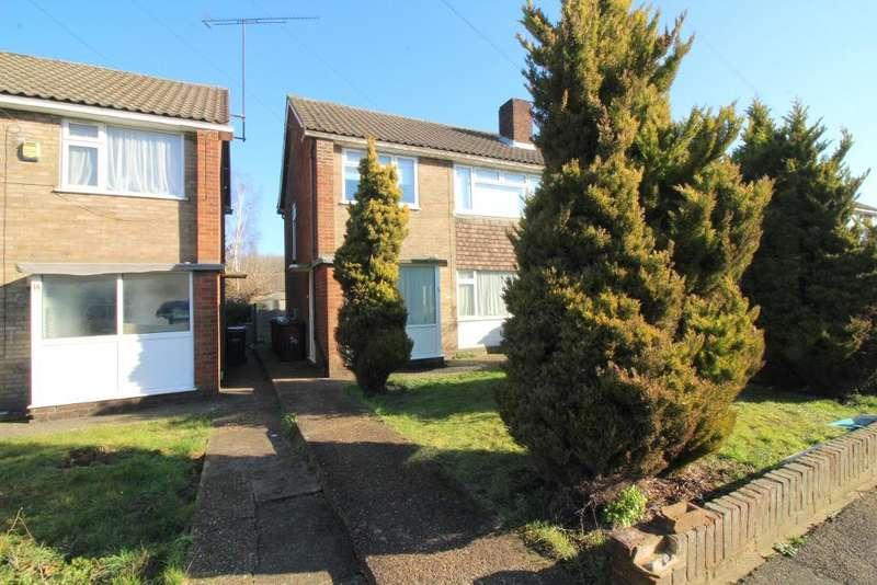 2 Bedrooms Maisonette Flat for sale in Birchen Grove, Luton, Bedfordshire, LU2 7TN