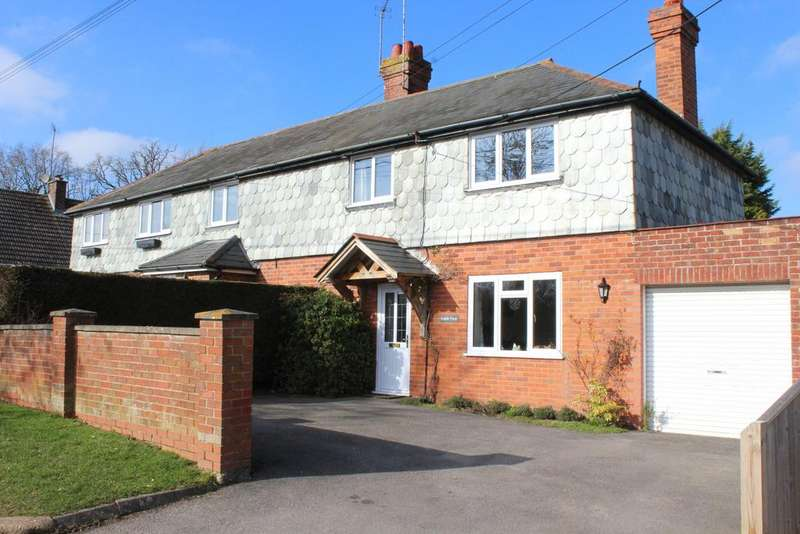 2 Bedrooms Semi Detached House for sale in Ball Hill, Newbury RG20
