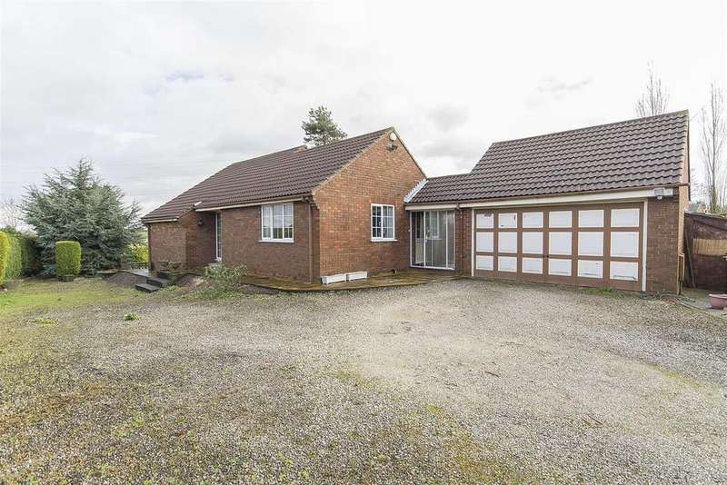 2 Bedrooms Detached Bungalow for sale in Blacksmith Lane, Calow, Chesterfield