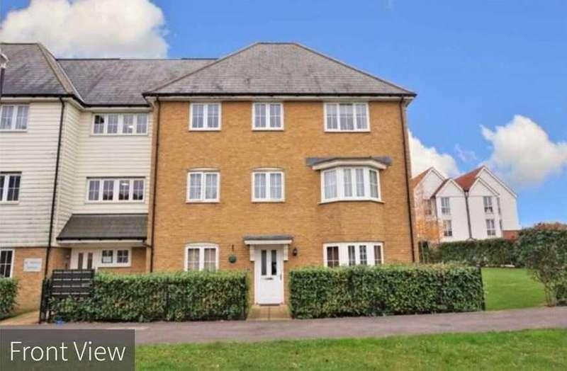 2 Bedrooms Apartment Flat for rent in Crossways, Sittingbourne