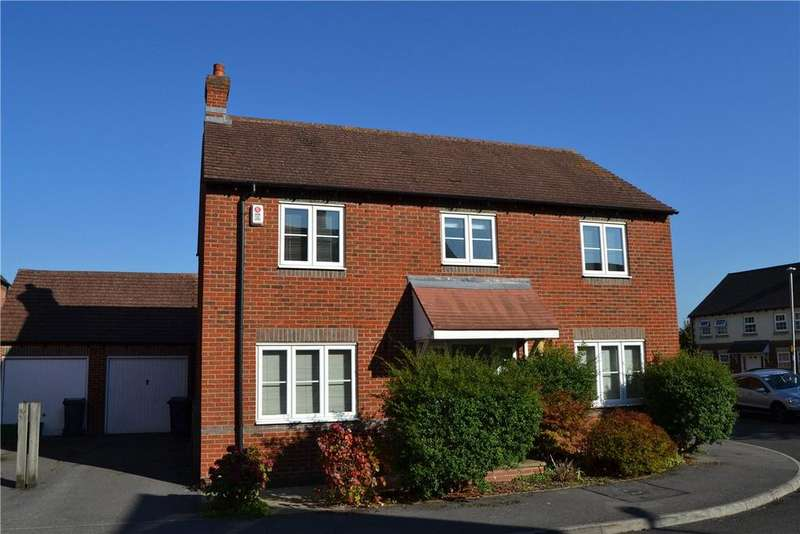 4 Bedrooms Detached House for sale in Deadmans Lane, Greenham, Thatcham, Berkshire, RG19