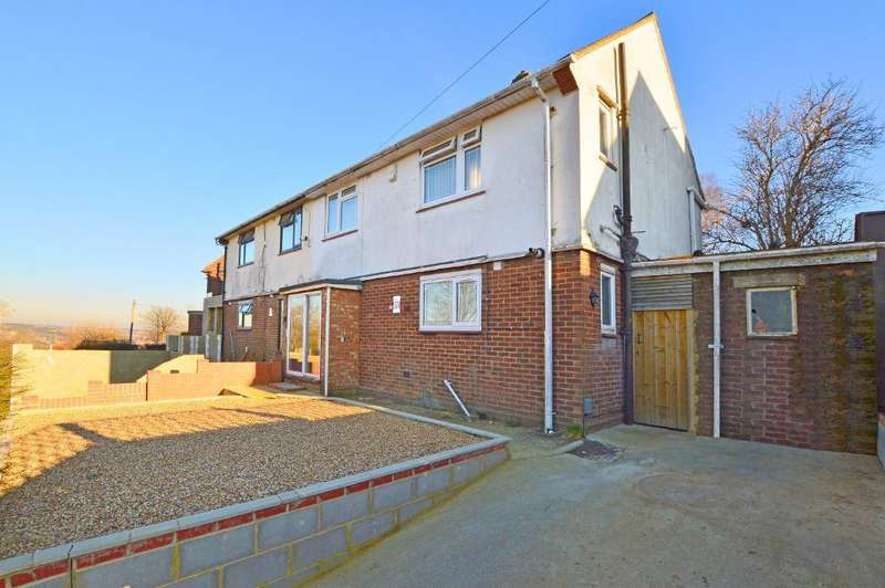 3 Bedrooms Semi Detached House for sale in Long Croft Road, Farley Hill, Luton, LU1 5RU