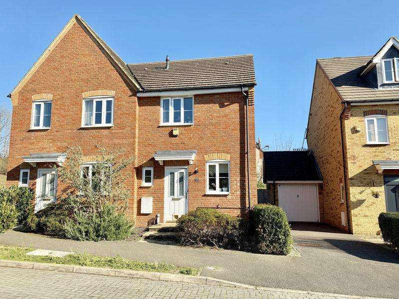 2 Bedrooms Semi Detached House for sale in Goodman Drive, Leighton Buzzard