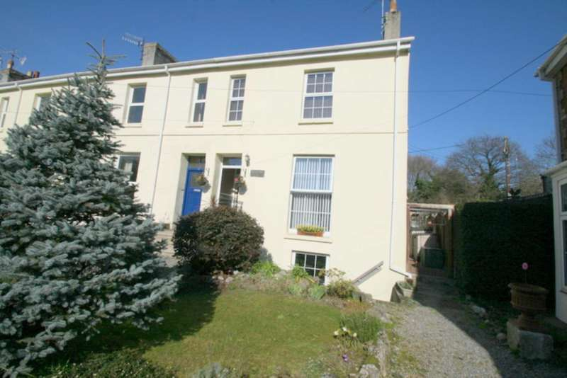 4 Bedrooms End Of Terrace House for sale in Old Priory, Plympton
