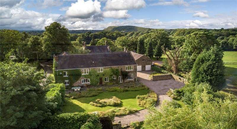 5 Bedrooms Detached House for sale in Brookhouse Lane, Timbersbrook, Congleton, Cheshire, CW12