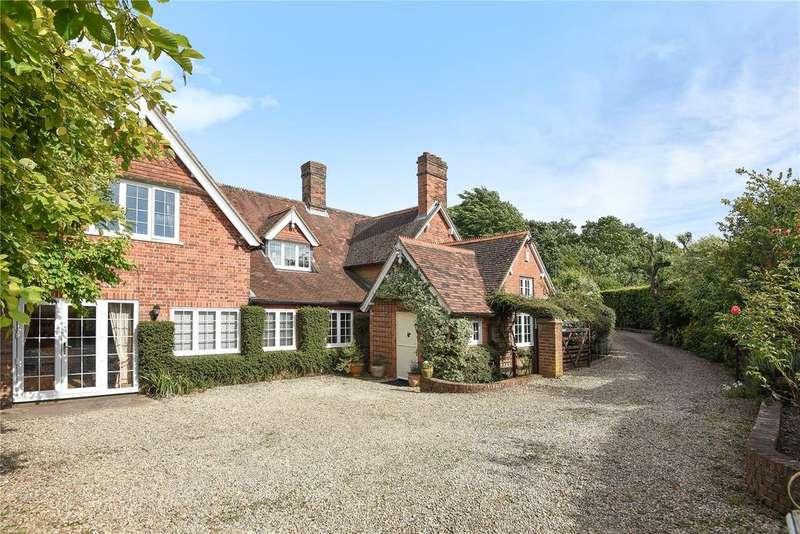5 Bedrooms Detached House for sale in Beedon Hill, Beedon, Newbury, Berkshire