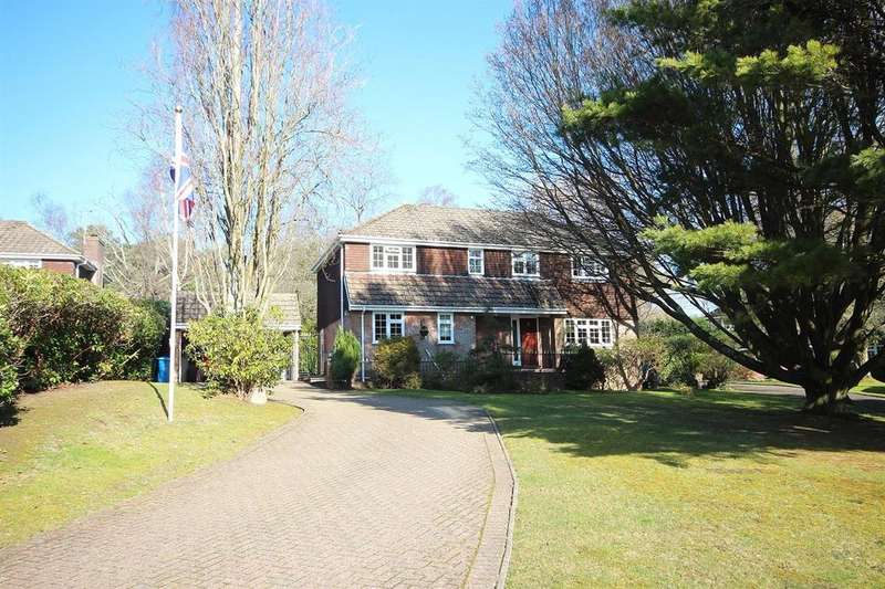 5 Bedrooms Detached House for sale in Westcroft Park, Broadstone