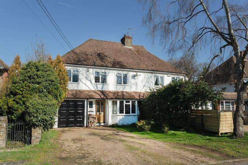 4 Bedrooms Semi Detached House for sale in Gregory Road, Hedgerley, Buckinghamshire SL2
