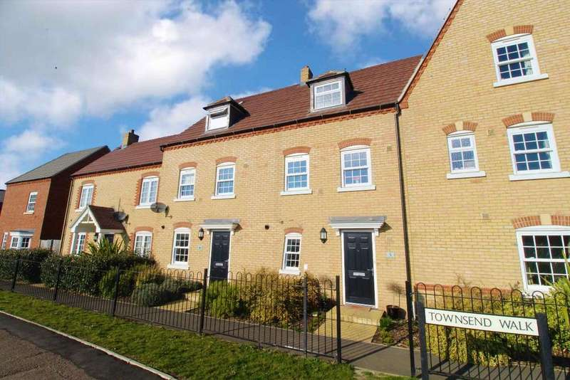 4 Bedrooms Terraced House for sale in Townsend Walk, Kempston, MK42