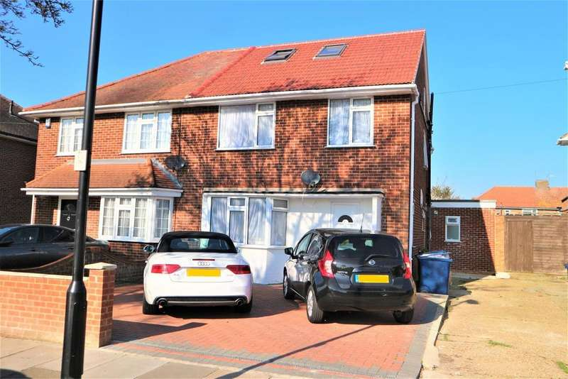 5 Bedrooms Semi Detached House for sale in Townson Avenue, Northolt, UB5