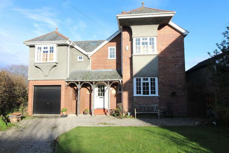 4 Bedrooms Detached House for sale in Hill Lane, Hartley, Plymouth