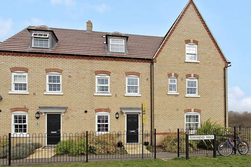 4 Bedrooms Terraced House for sale in Townsend Walk, Kempston, Bedford, MK42