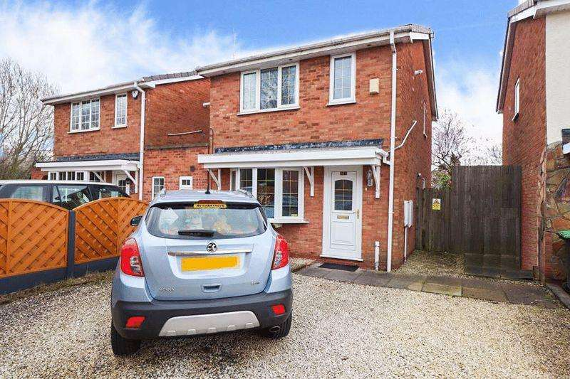 3 Bedrooms Detached House for sale in Weston Drive, Tipton