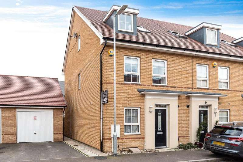 4 Bedrooms End Of Terrace House for sale in Bank Avenue, Dunstable, Bedfordshire, LU6