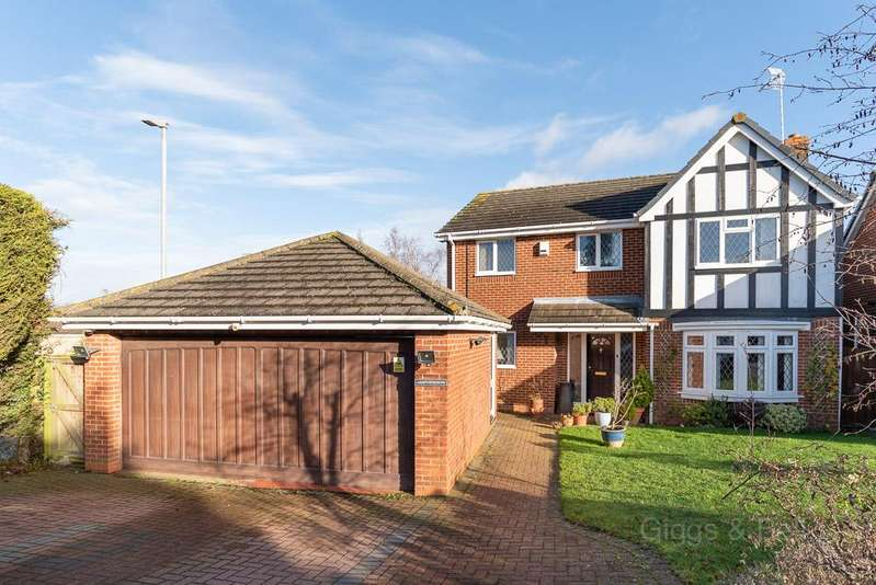 4 Bedrooms Detached House for sale in Tameton Close, Luton, Bedfordshire, LU2
