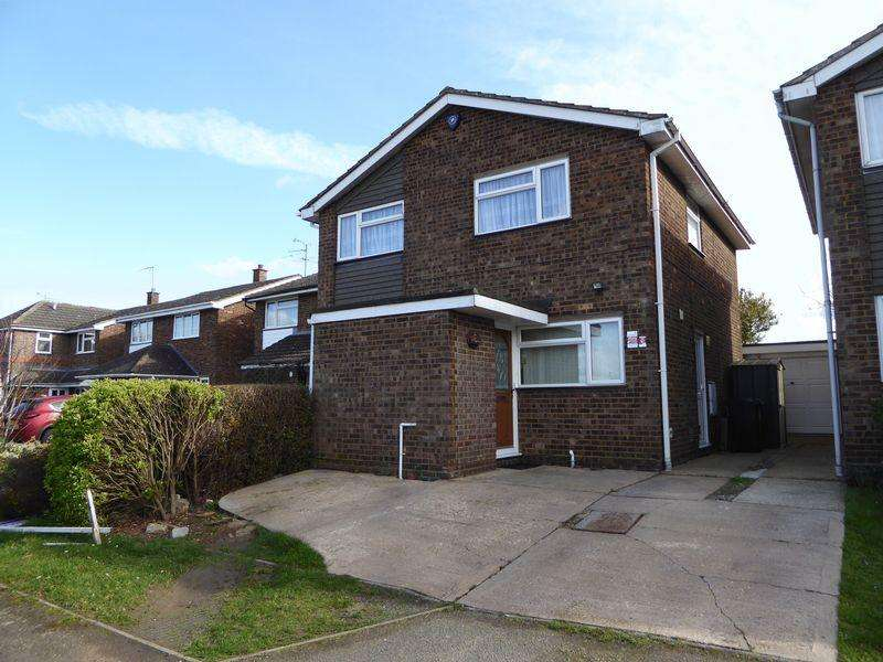 4 Bedrooms Detached House for sale in Garrett Close, South West Dunstable