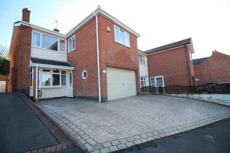 4 Bedrooms Detached House for sale in Sullington Road, Shepshed