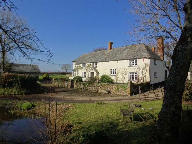 4 Bedrooms Land Commercial for sale in Chawleigh, Chulmleigh, Devon, EX18