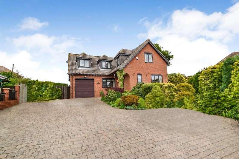 4 Bedrooms Detached House for sale in Hycroft, Stockton Road, Easington Village, SR8