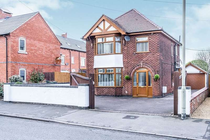 3 Bedrooms Detached House for sale in Ashby Road, Coalville, LE67