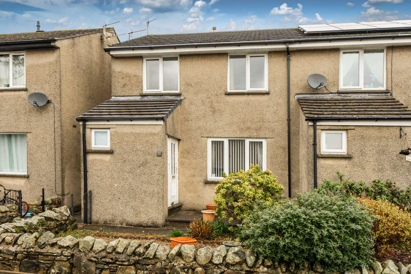 3 Bedrooms End Of Terrace House for sale in 13 Levens Close, Kendal, Cumbria, LA9 7LU