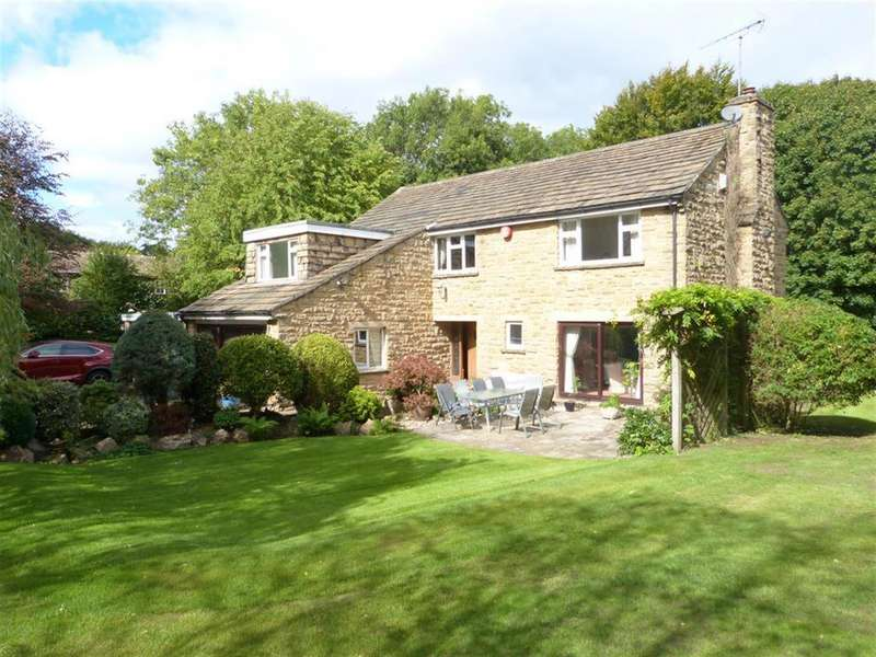 5 Bedrooms Detached House for sale in Mill Hill Top, Harden, BD16 1BJ