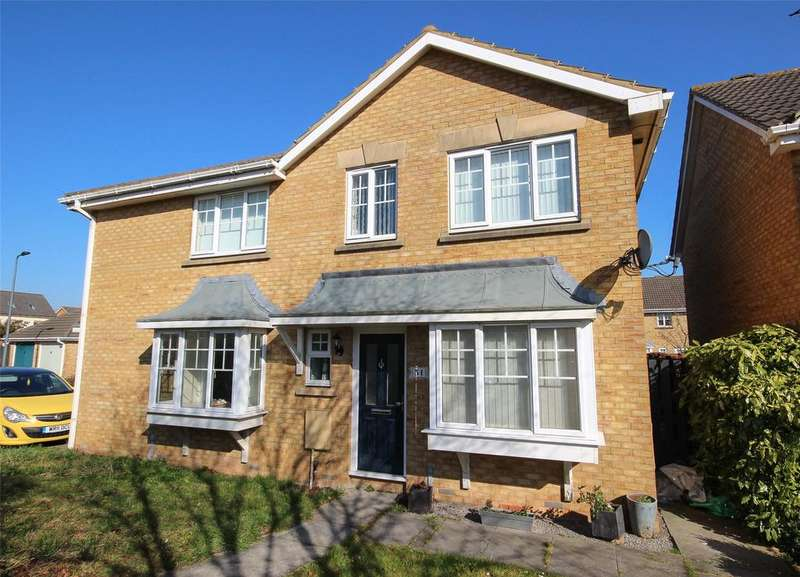 3 Bedrooms Semi Detached House for sale in Hawkins Crescent, Bradley Stoke, Bristol, BS32
