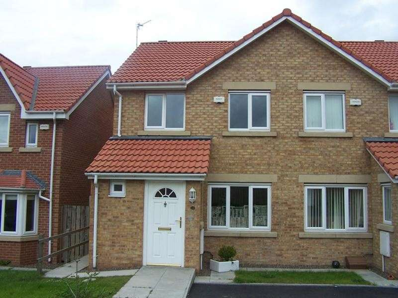 3 Bedrooms Semi Detached House for sale in Woodhorn Farm, Newbiggin-by-the-Sea, NE64