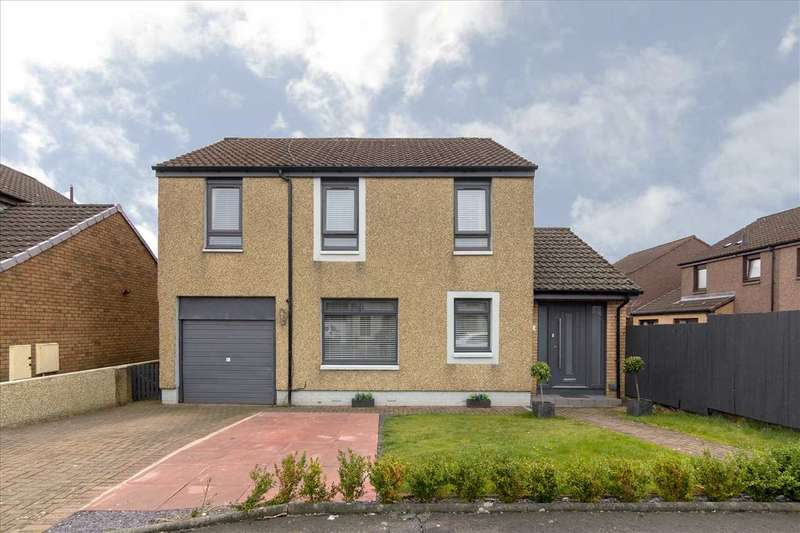 4 Bedrooms Detached House for sale in Strathmiglo Place, Falkirk