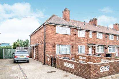 2 Bedrooms End Of Terrace House for sale in Malakand Road, Kempston, Bedford, Bedfordshire
