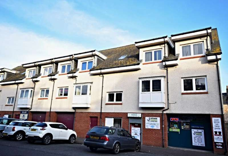 2 Bedrooms Flat for sale in Peebles Street , Ayr , South Ayrshire , KA8 8DS