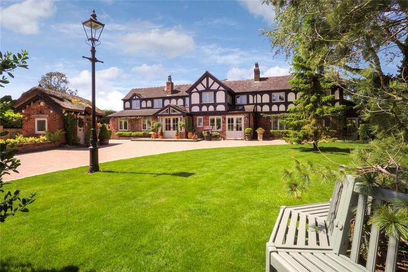 7 Bedrooms Detached House for sale in Giantswood Lane, Somerford Booths, Congleton, Cheshire, CW12
