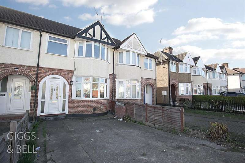 3 Bedrooms Terraced House for sale in Hurst Way, Luton, Bedfordshire, LU3