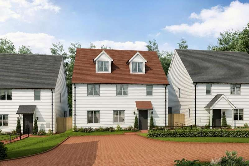 5 Bedrooms Detached House for sale in Stockwood Meadow, Staplecross, East Sussex, TN32 5QH