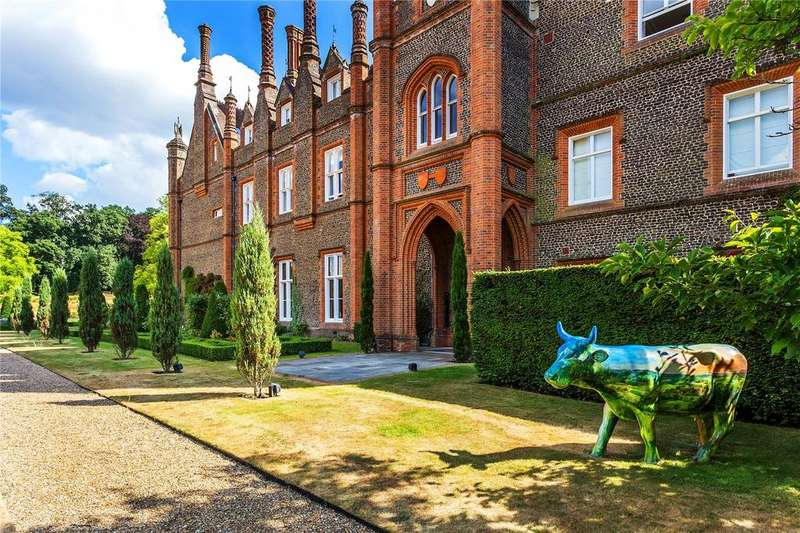 2 Bedrooms Flat for sale in Albury Park Mansion, Albury Park, Guildford, Surrey, GU5