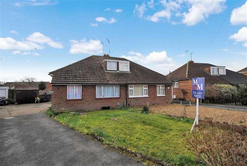 3 Bedrooms Semi Detached Bungalow for sale in Clipstone Crescent, Leighton Buzzard