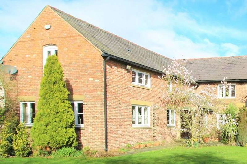 3 Bedrooms Barn Conversion Character Property for sale in Pocket Nook Lane, Lowton, Warrington