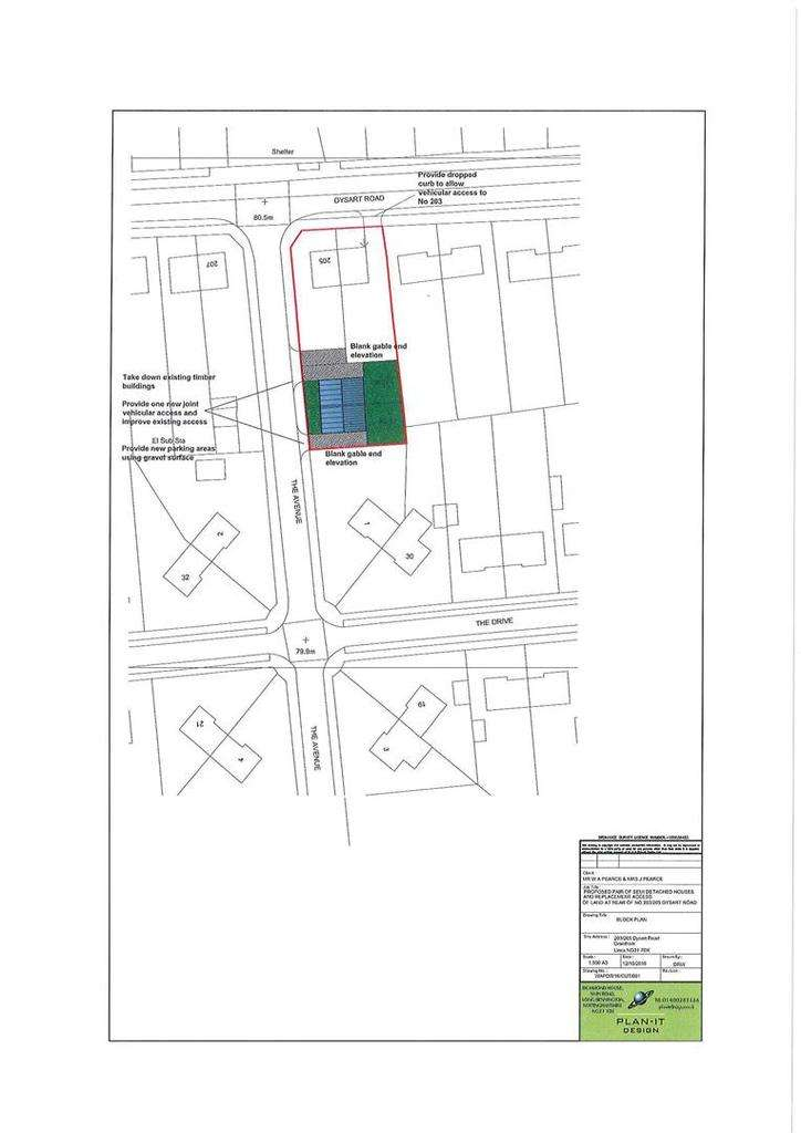Plot Commercial for sale in The Avenue Rear of Dysart Road, Grantham