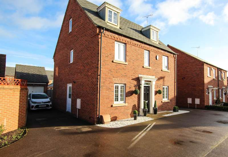 5 Bedrooms Detached House for sale in Plover Road, Leighton Buzzard