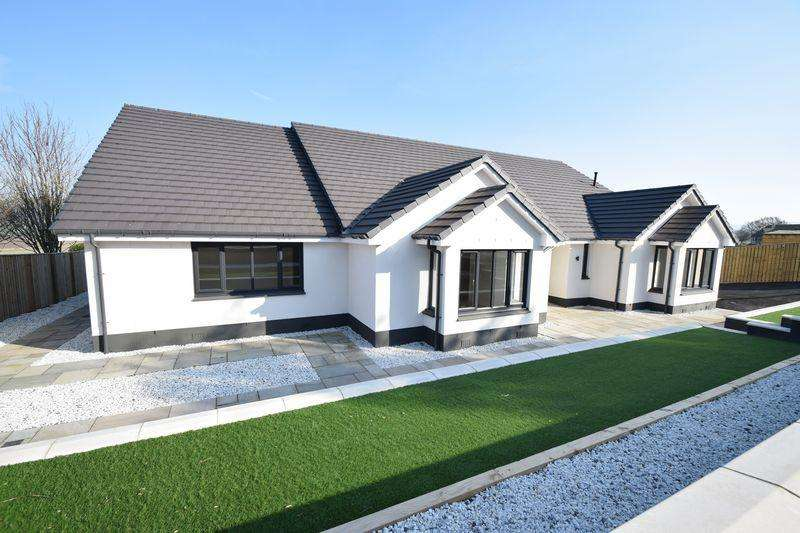 4 Bedrooms Detached Bungalow for sale in NEW - 75 Sherifflats Road, Thankerton, Biggar