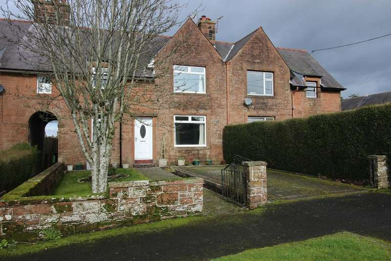 3 Bedrooms Terraced House for sale in Victoria Park, Lockerbie DG11