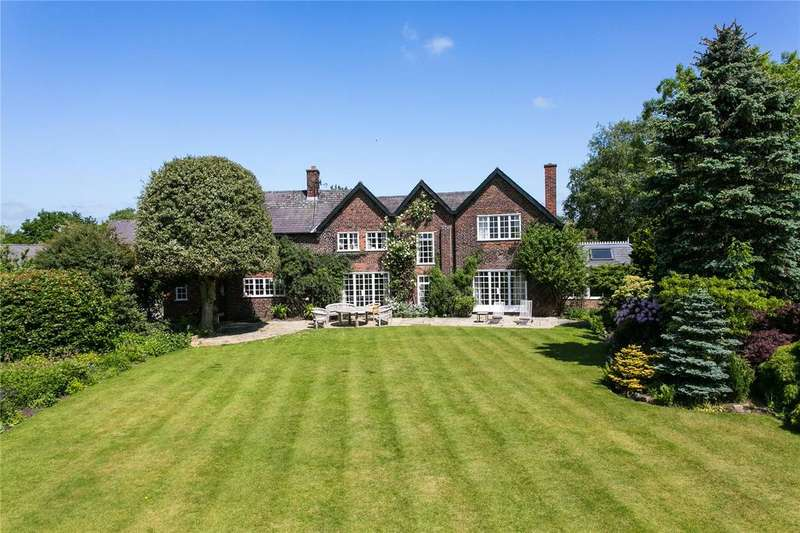 6 Bedrooms Detached House for sale in Blackden, Goostrey, Holmes Chapel, Cheshire, CW4