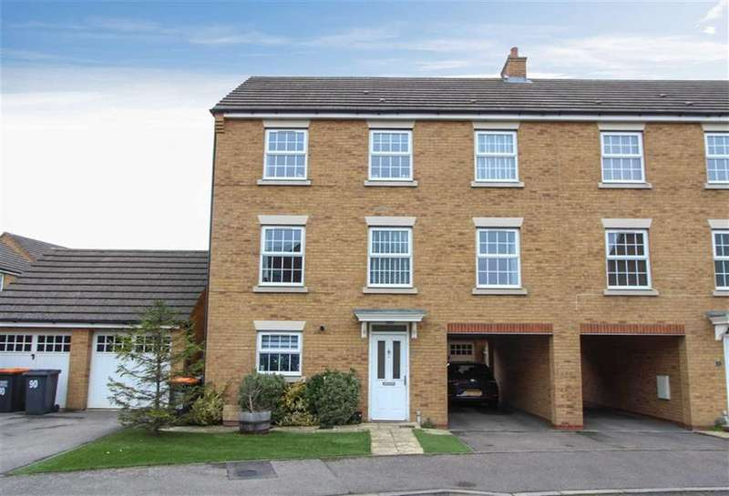 5 Bedrooms Town House for sale in Cormorant Way, Leighton Buzzard